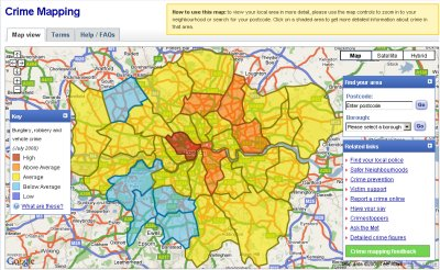 Map Of London Areas And Surrounding Areas.Crime Mapping Website